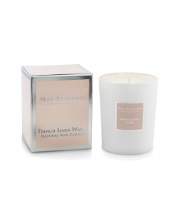 Max Benjamin French Linen Candle