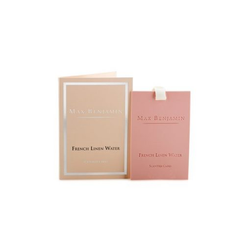 Max Benjamin French linen water scented card