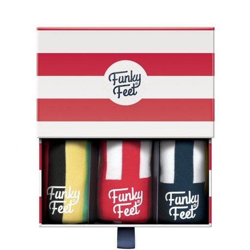 Tipperary Crystal Funky Feet Socks