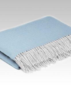 blue lambs wool blanket
